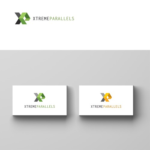 Logo concept for Xtreme Parallels, software development team