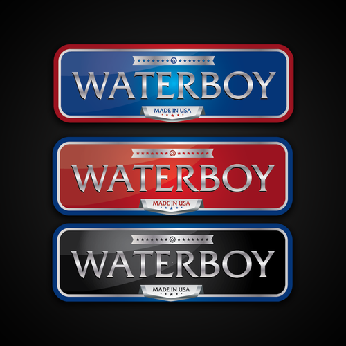 Brand Label for water tanks.