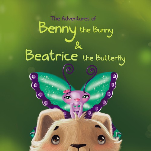 Benny the bunny and Beatrice te butterfly