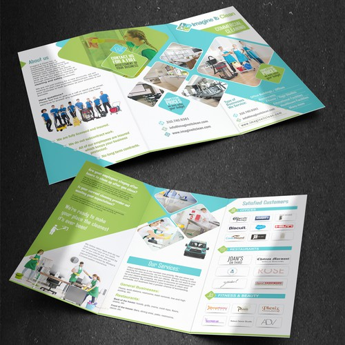 Design a Professional and Attractive Brochure for Cleaning Business.