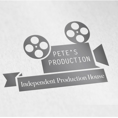 Iconic Logo concept for PETE'S Production