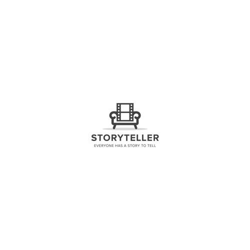 Logo design for Storyteller