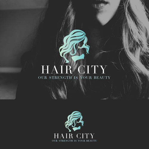 Logo for  Hair City