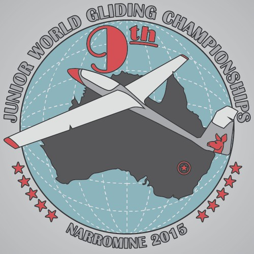 9th Junior World Gliding Championships. Narromine 2015 needs a new logo