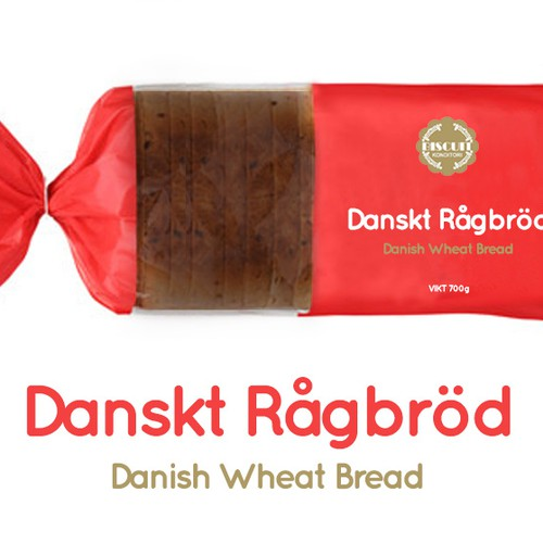 Danish Wheat Bread Packaging
