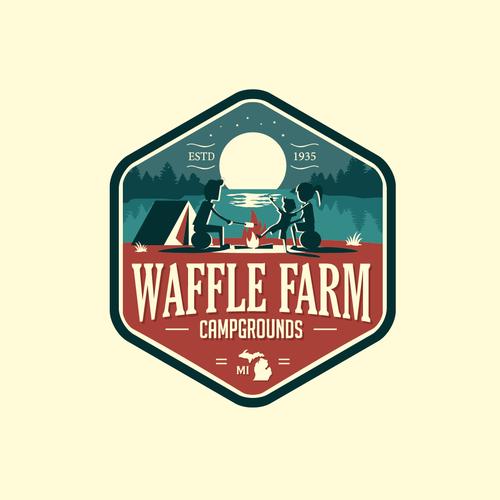 Waffle Farm Campgrounds Logo
