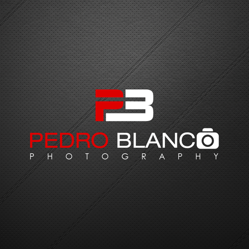 Create an logo/design for my photography that will stand out on a black background.