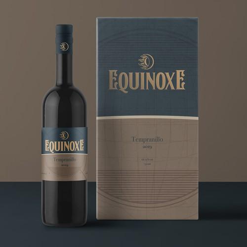 Tempranillo Wine Label and box