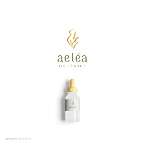 Logo for a natural cosmetics brand
