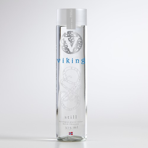 Help Viking Water with a new product label