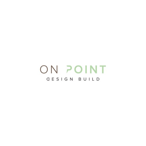 ON POINT logo for architect company