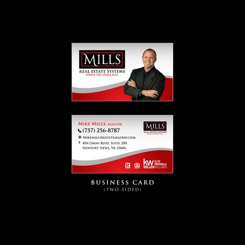 Business Card for Mills RE Systems