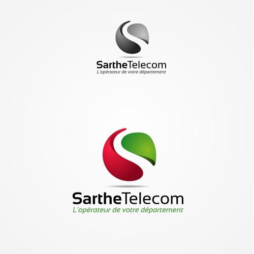 Sarthe Telecom logo