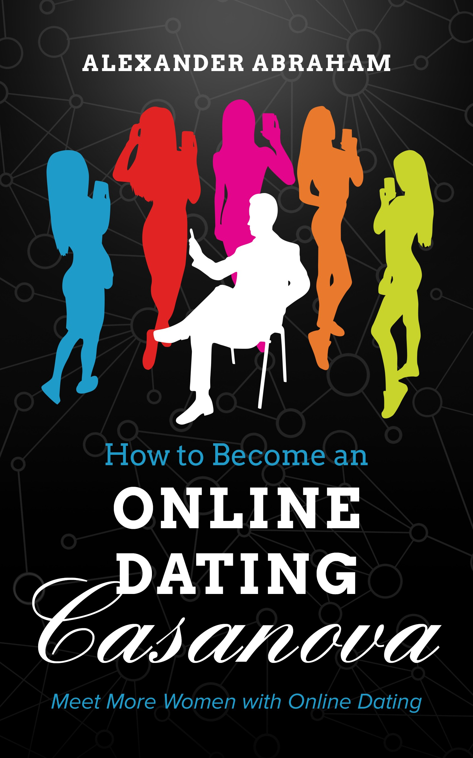 """Whip up a neat, eye-grabbing cover for Online Dating Casanova """"how-to"""" book"""