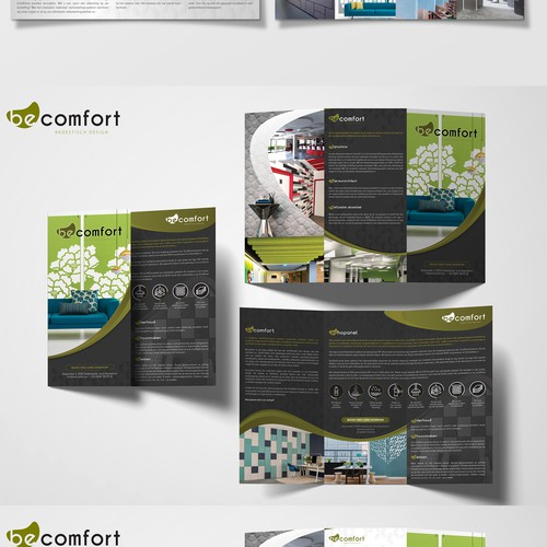 Flyer Design for BeComfort Acoustic Panels