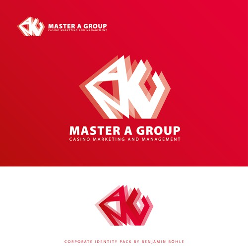 bold Logo for a casino marketing company