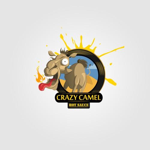 Crazy Camel Hot Sauce needs a new logo