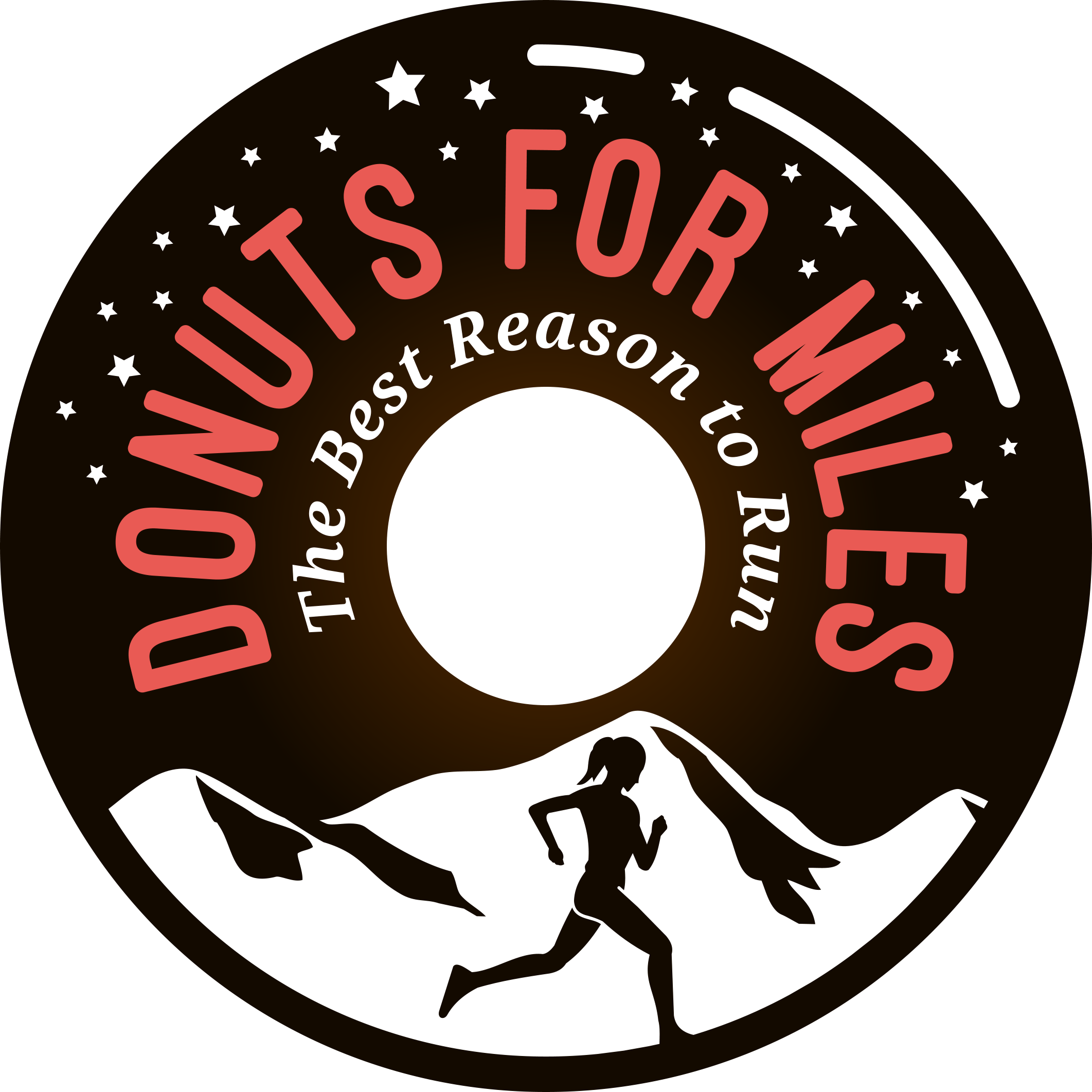 Strong Logo for Running and Donut Blog