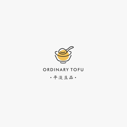 Logo Concept for ordinary tofu