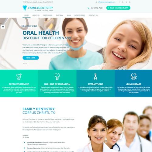 Attractive Dentist Website