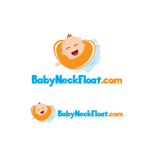 New Logo for Babyneckfloat.com