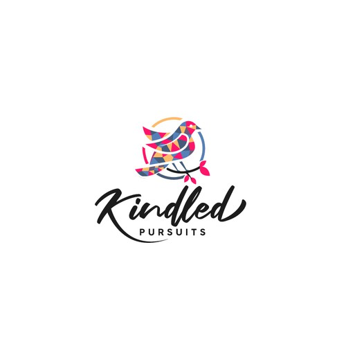 Kindled Pursuits logo