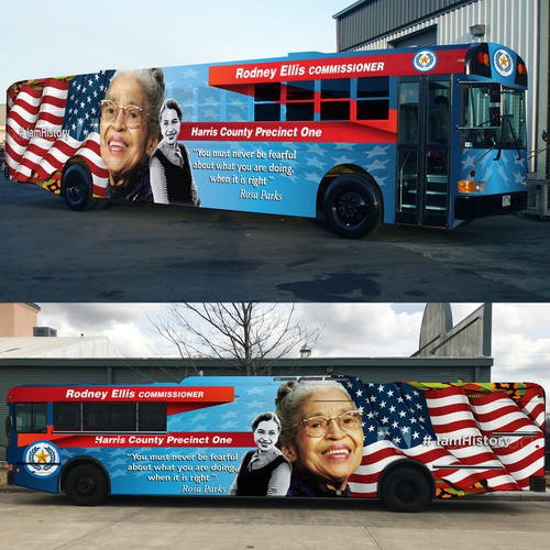 Bus full wrap design