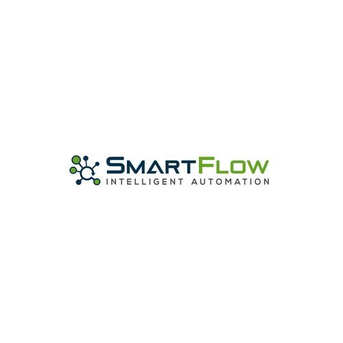 SmartFlow logo design