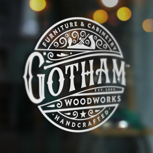 Gotham logo concept