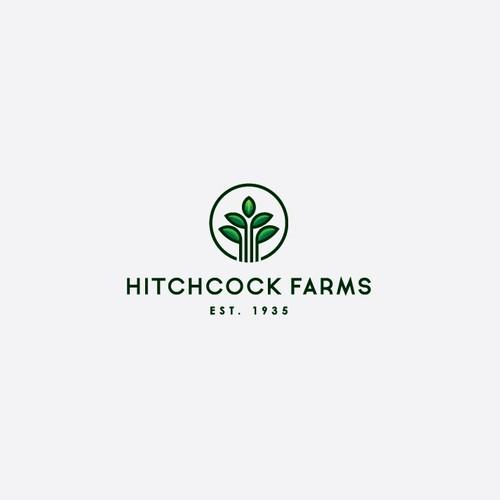 Hitchcock Farms Logo Concept