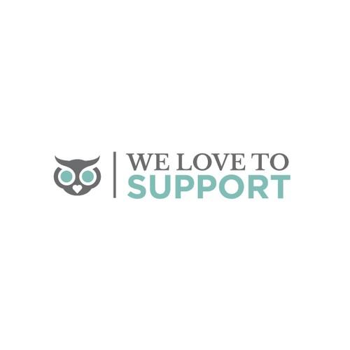 """Erstellt ein cooles Logo für """"We love to support"""""""