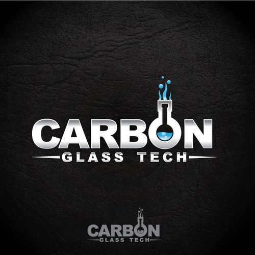 logo design for Carbon Glass Tech