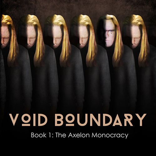 Void Boundary (Cover art for sci-fi novel)