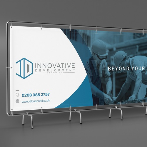 Banner for a Home development Entity