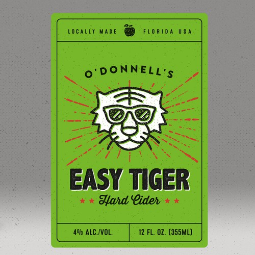 Easy Tiger - Hard Cider