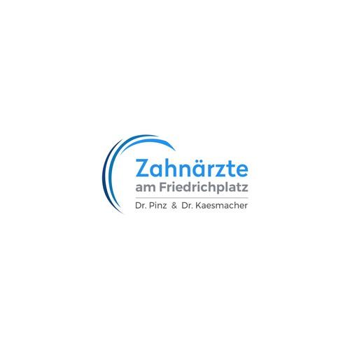 The logo concet for Zahnärzte am Friedrichsplatz.