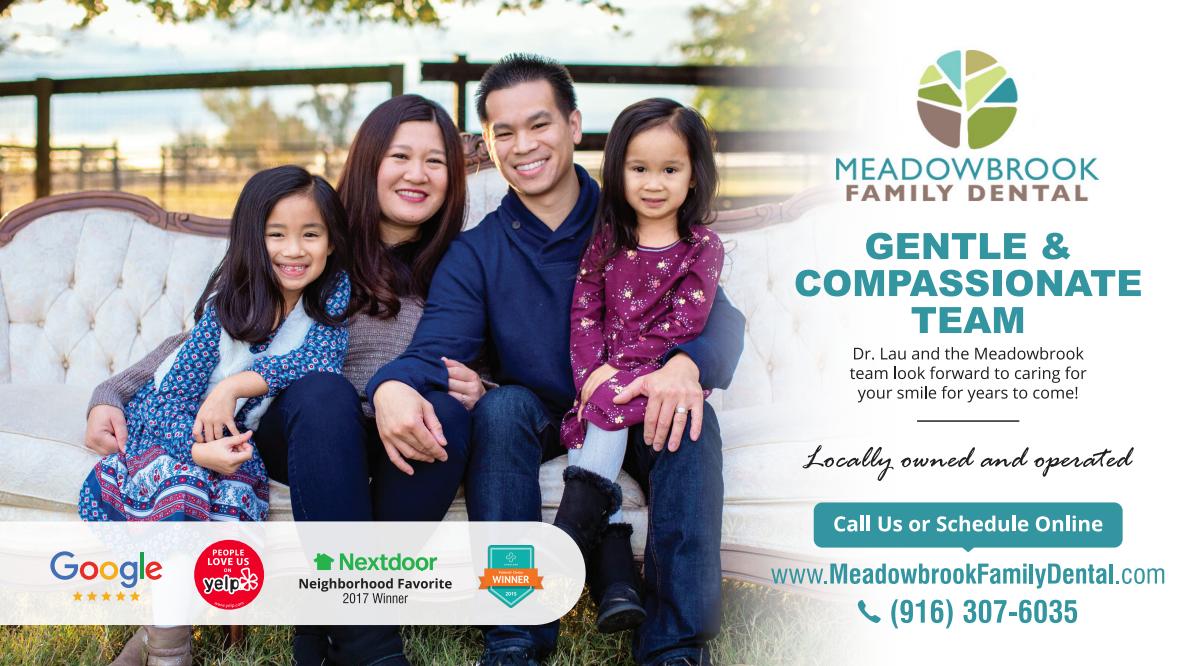 Meadowbrook Family Dental Mailer Design