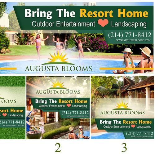 Augusta blooms contest design