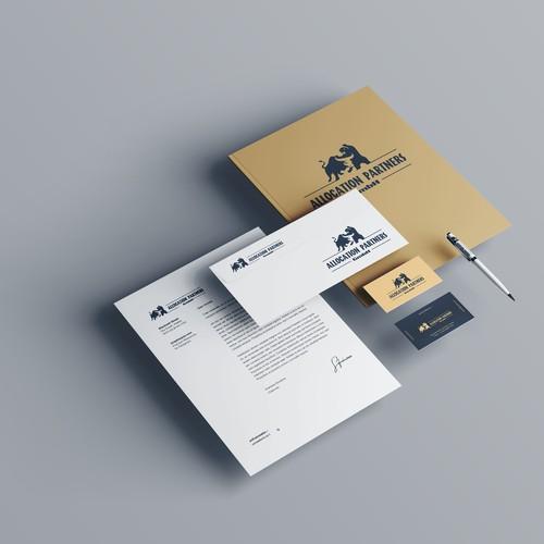 'Bull Bear' logo for Allocation Partners GmbH
