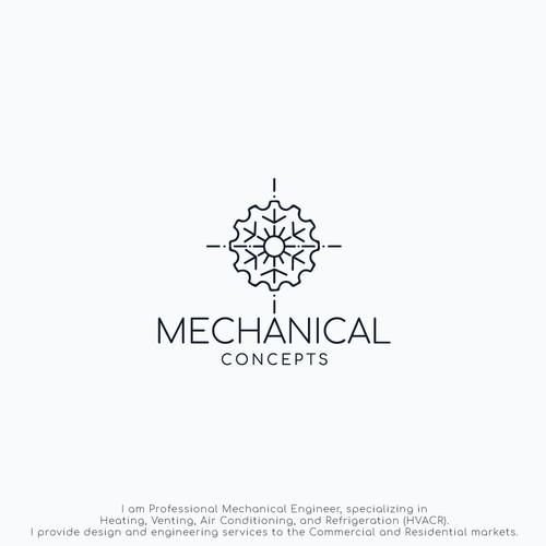 Conceptually Mechanic Logo