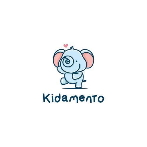 Logo for kids digital cameras