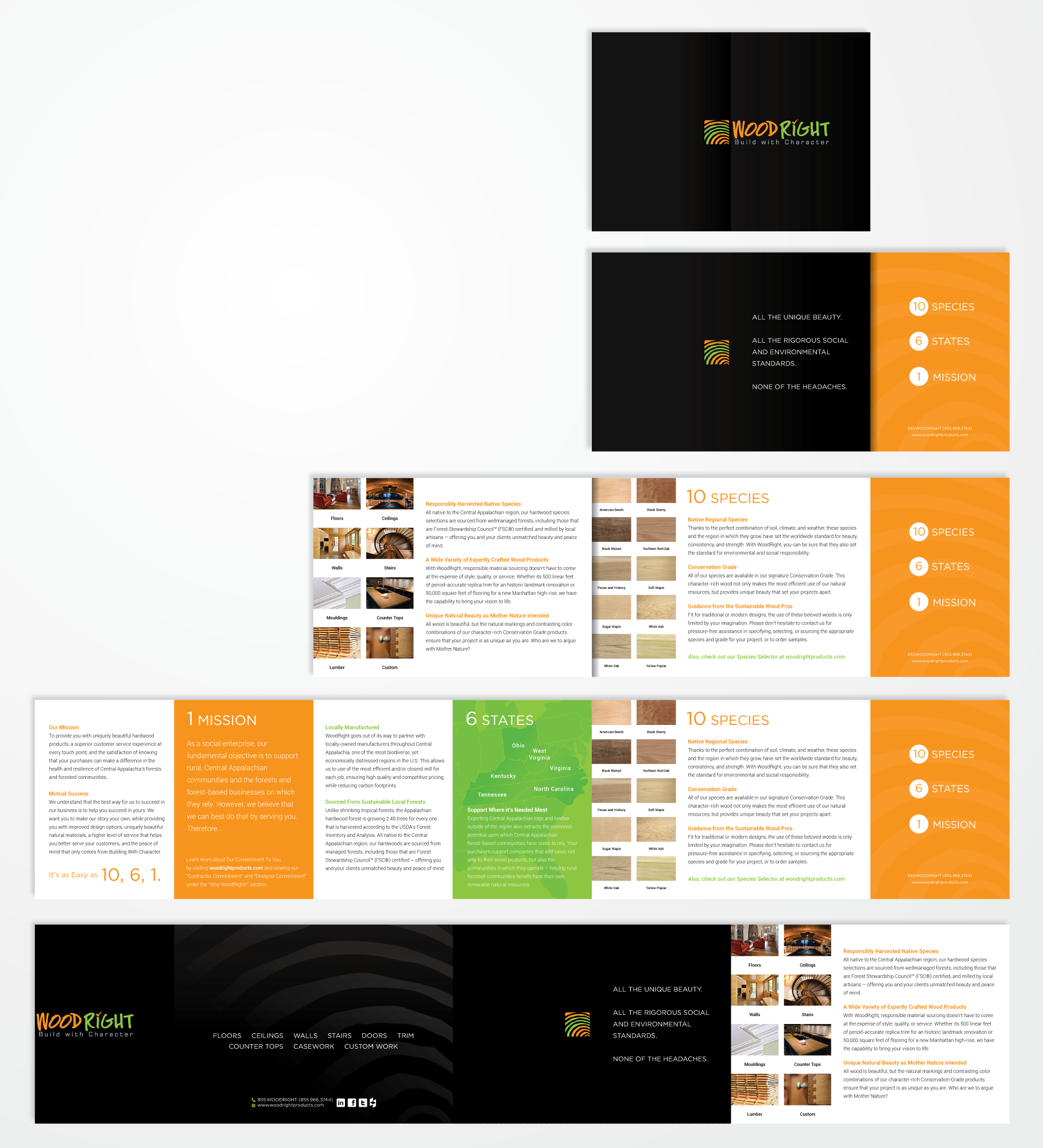 TIRED OF BORING tri-fold brochure designs?! So are we! Check out our concept and get creative!