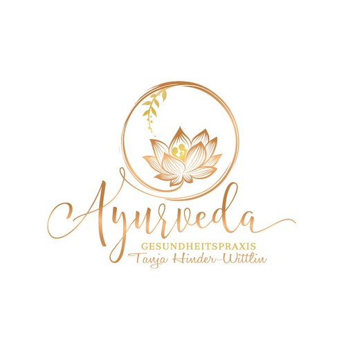 Logo designed for a Naturapathist-who support people to stay in balance with Ayurvedic treatments.....