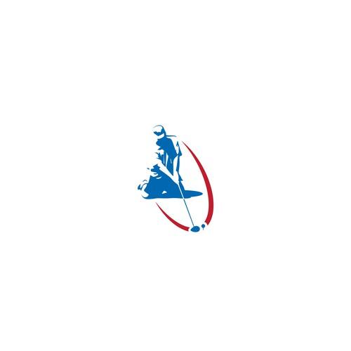 Golf tournament logo design