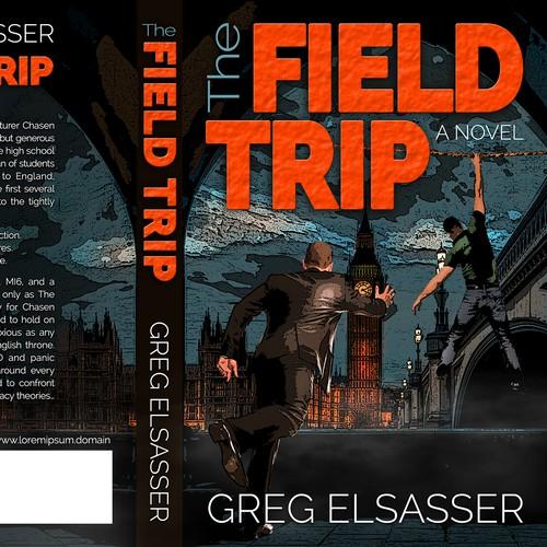 Suspense Fiction Novel Jacket