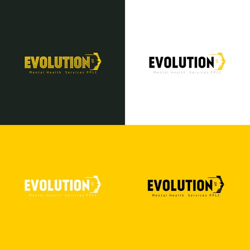 Contest Finalist of Logo for Evolution-Mental Health Services