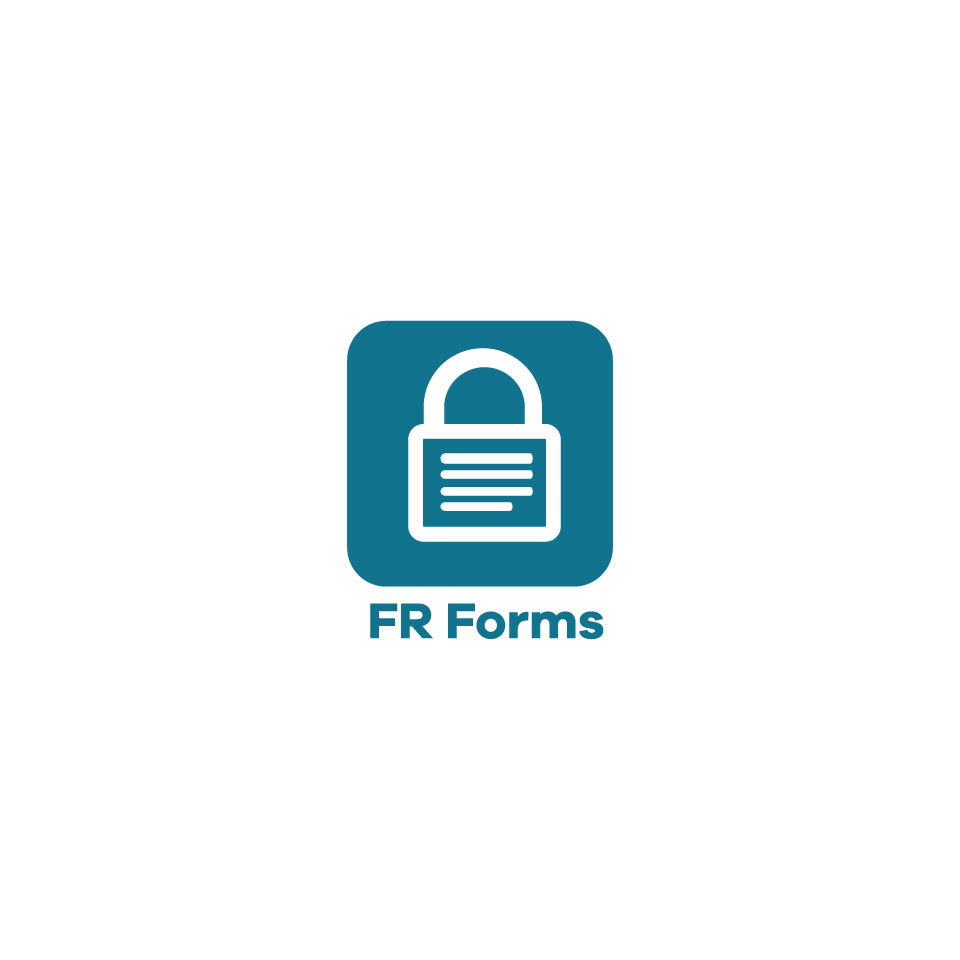 FR Forms logo - web based service for mobile forms