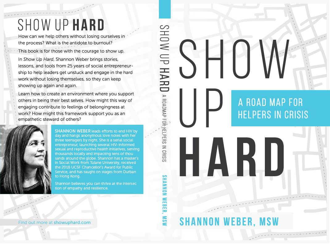 YES! Book cover for transformative guide for social good changemakers