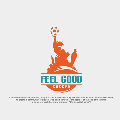 feel good logo concept