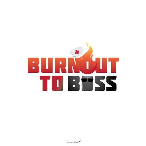 """Burnout to Boss"" Book - Logo"